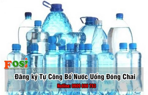 tự công bố nước uống