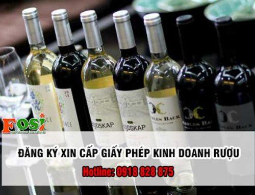 Đăng ký giấy phép sản xuất rượu thủ công