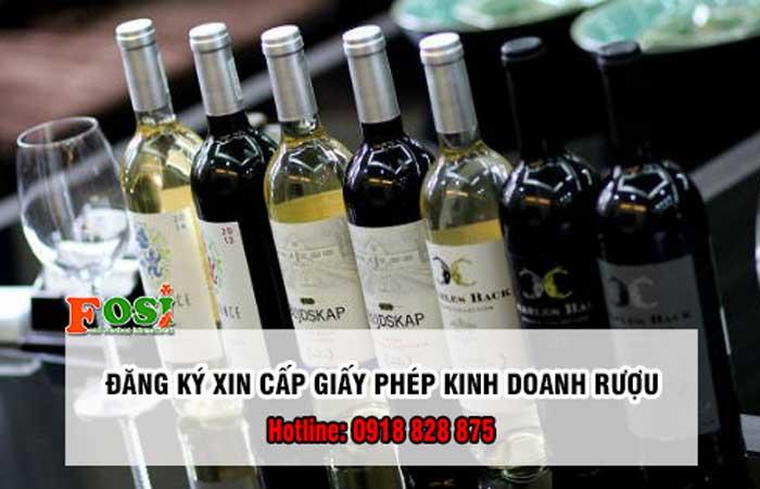 dịch vụ làm giấy phép sản xuất rượu thủ công