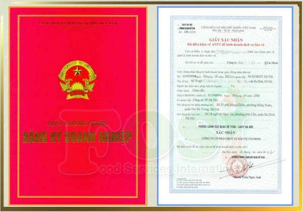 Mẫu giấy phép doanh nghiệp