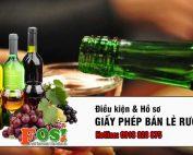giấy phép bán lẻ rượu