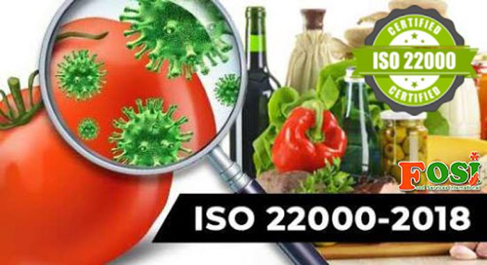xây dựng hệ thống quản lý chất lượng ISO 22000:2018