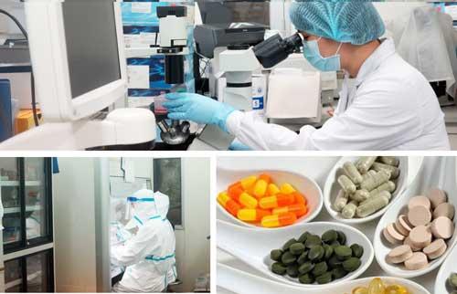 nghiên cứu công thức thực phẩm chức năng