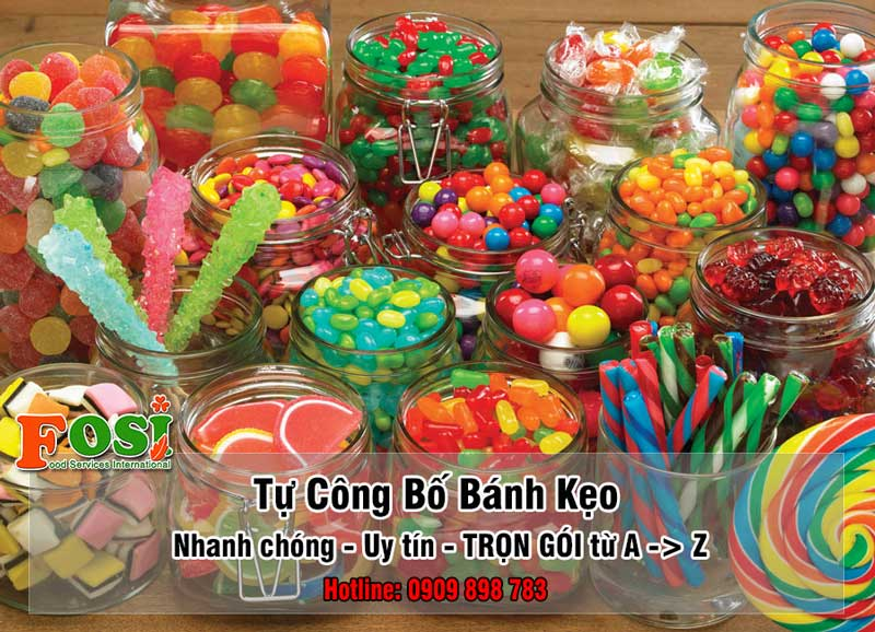tự công bố bánh kẹo sản xuất trong nước
