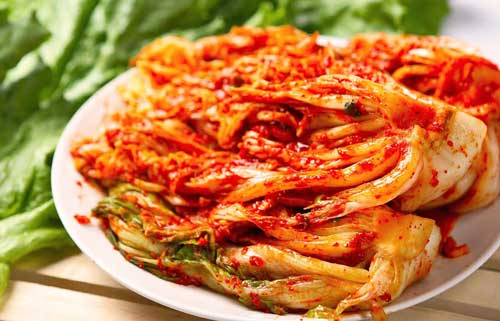 kim chi - cải thảo muối chua