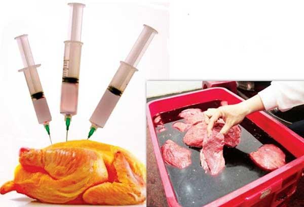 thành phần chất độc hại trong thực phẩm