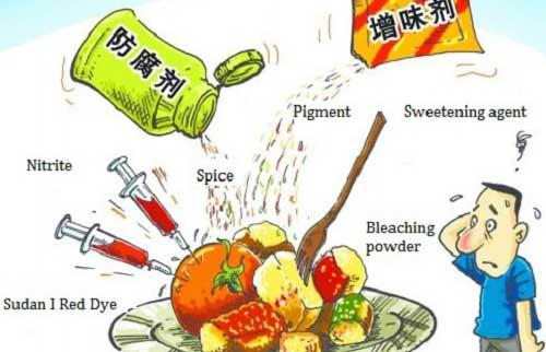 thành phần chất độc hại trong thực phẩm vượt quá mức cho phép bị xử lý như nào