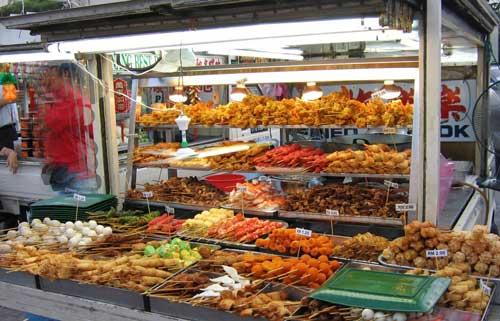 Vệ sinh an toàn thực phẩm thức ăn đường phố