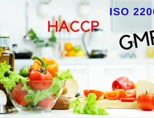 Đảm bảo an toàn thực phẩm theo ISO 22000, GMP, HACCP, BRC, GLOBAL GAP, …