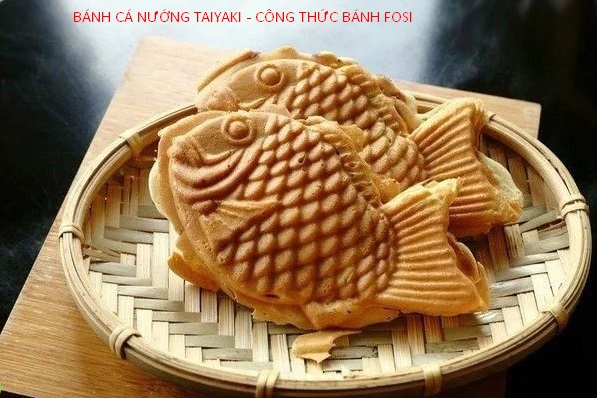 huong dan lam banh ca nuoc taiyaki cong thuc lam banh